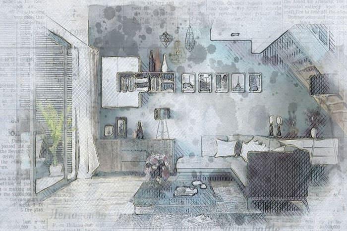 дизайн квартиры в Москве