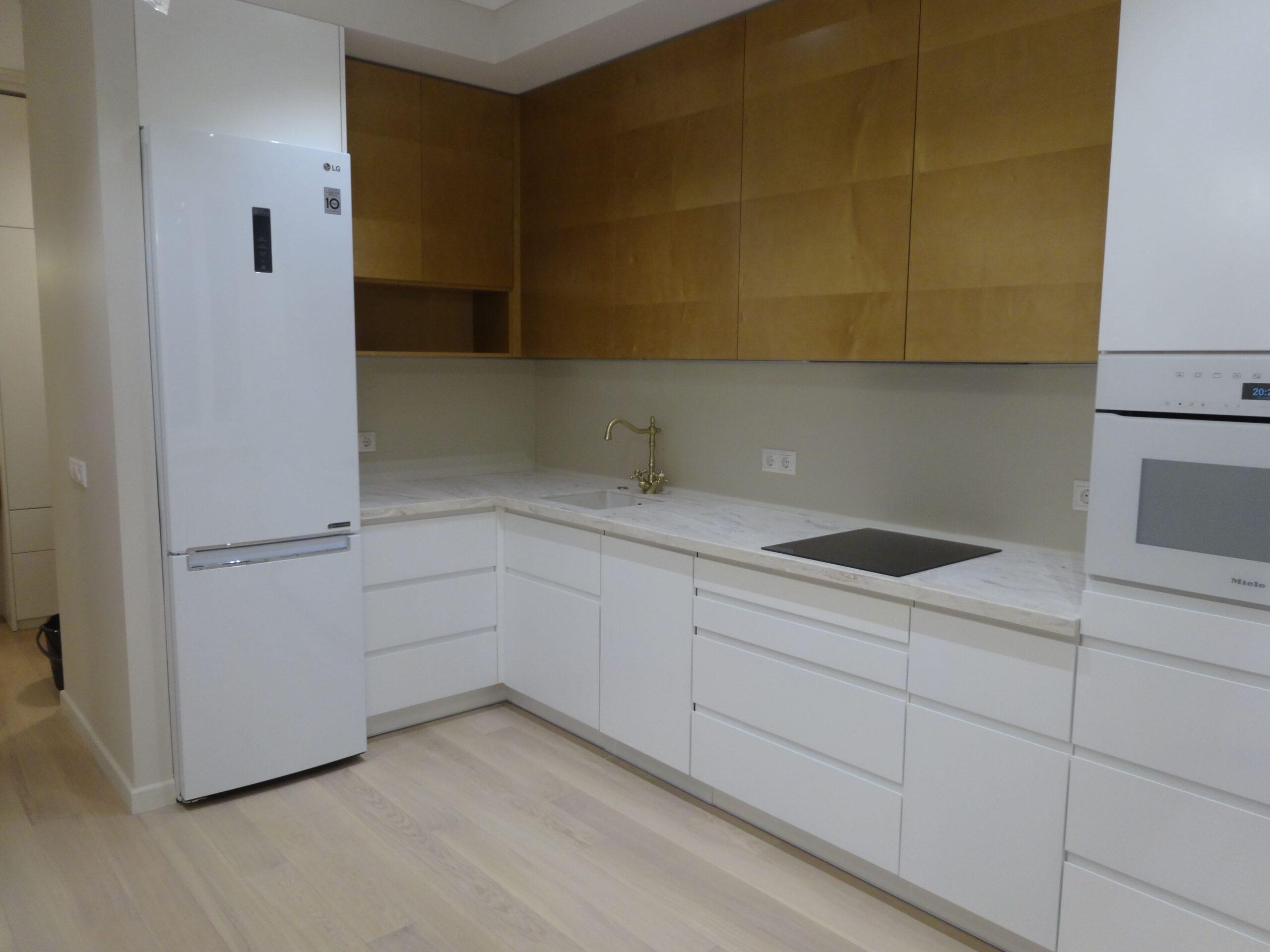 ремонт кухни в жк Прайм Тайм