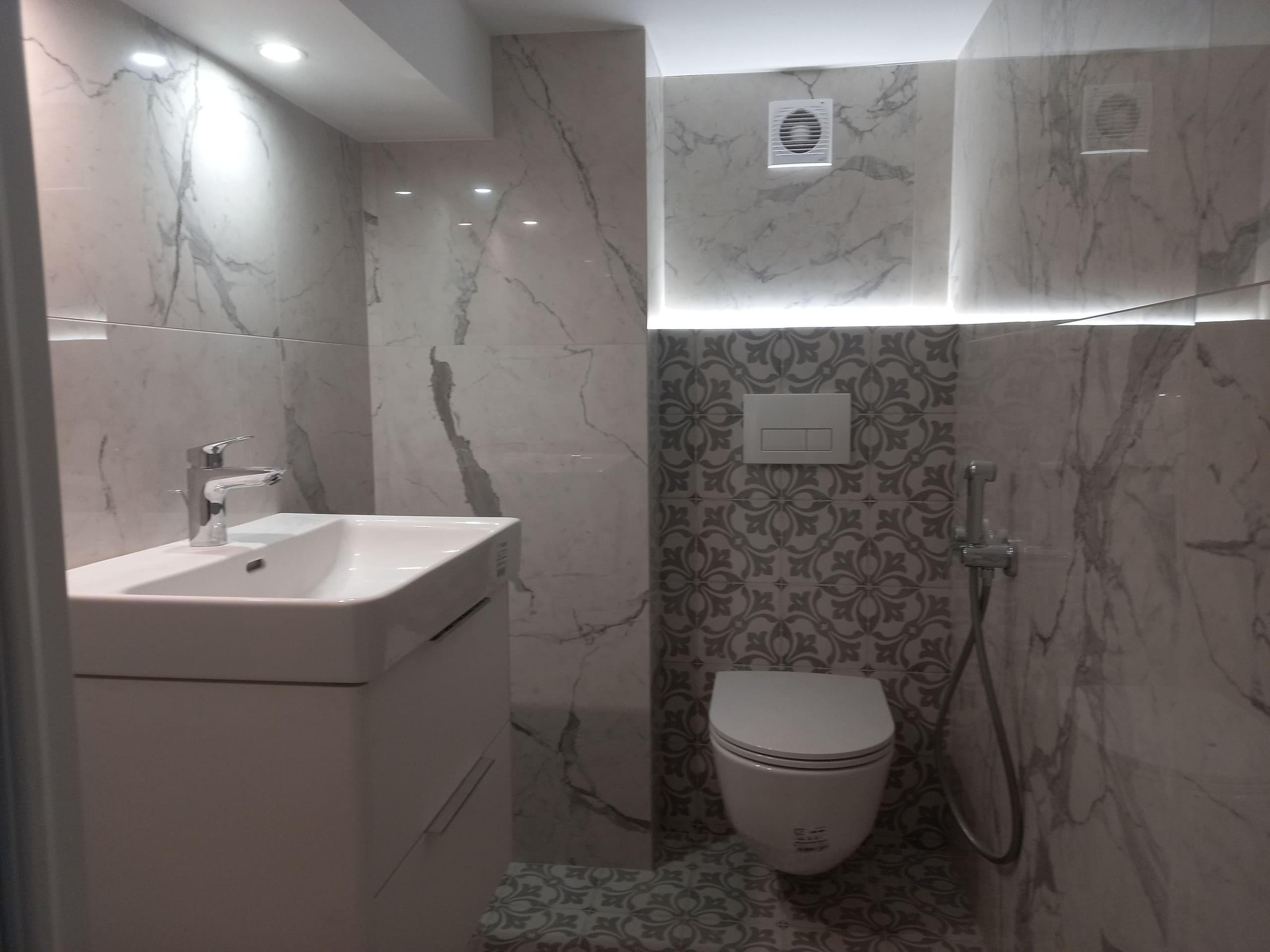 ремонт ванной в апартаментах