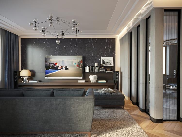 гостинная ремонт в квартире москва