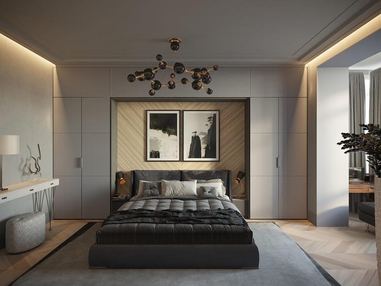 ремонт спальни в москве под ключ